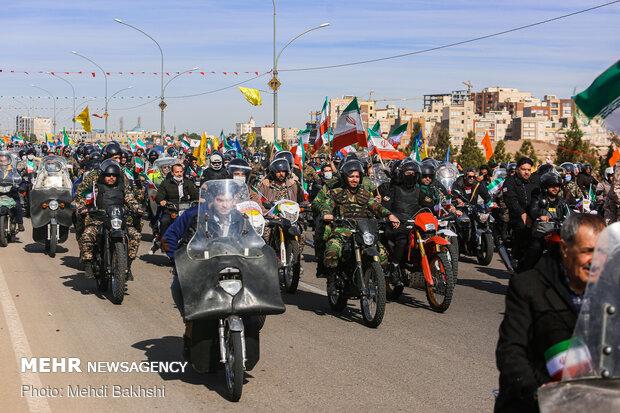 خروش خاستگاه انقلاب در روز پیروزی انقلاب - قم