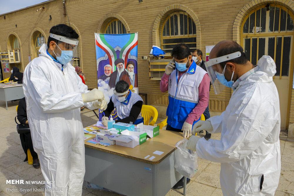 تقدیر از گروههای جهادی مستقر در بیمارستانهای دانشگاه علوم پزشکی