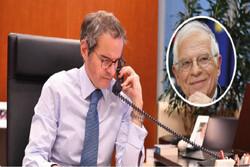 مدیرکل آژانس بینالمللی انرژی اتمی با «جوزف بورل» گفتگو کرد