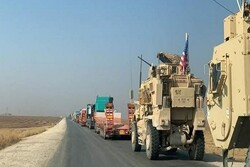 A US military logistics convoy targeted in Baghdad