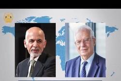 گفتگوی «اشرف غنی» با مسئول سیاست خارجی اتحادیه اروپا