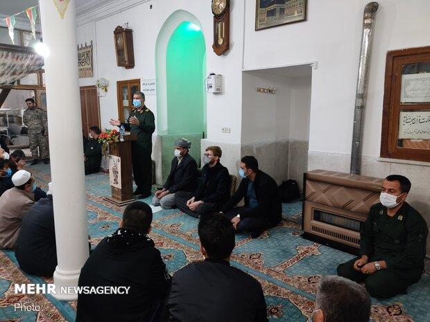 مراسم جشن آئینی صبر و شکر انقلاب اسلامی در امامزاده هاجر خاتون