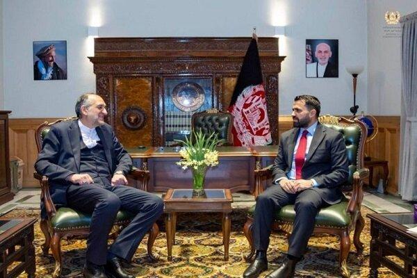 Iran, Afghanistan stress strengthening bilateral ties