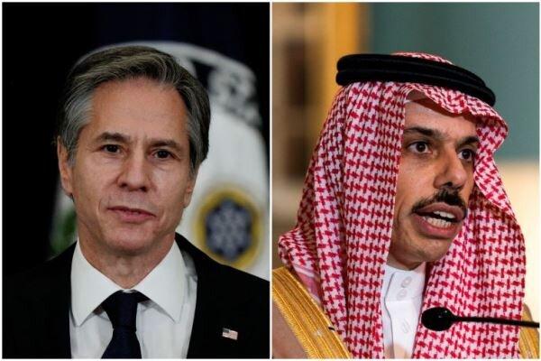 وزیران خارجه آمریکا و عربستان دیدار کردند