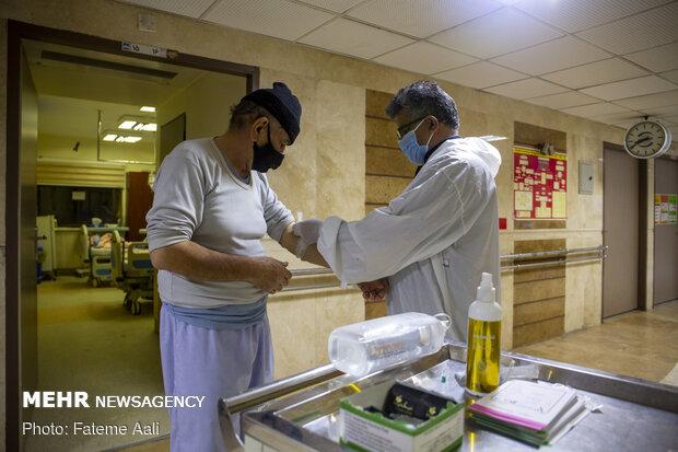 تلاش های شبانه کادر درمان