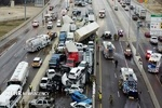 VIDEO: Deadly chain of car accident in US Texas left 9 dead