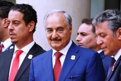 ژنرال «خلیفه حفتر» از فرآیند صلح در لیبی حمایت کرد