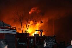 مرگ ۱۳۶نفر درآتش سوزیهای اصفهان/۳۵ نفر براثرگازگرفتگی جان باختند