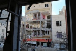 اردبیل میں ایک رہائشی مکان میں گيس دھماکہ