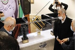 نخستین منظومه فضایی کشور در ارومیه رونمایی شد