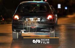 ضرب وشتم خبرنگار و تصویربردار درحین تهیه گزارش از منع تردد شبانه
