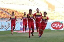 برد قاطعانه فولاد خوزستان مقابل شهرخودرو در نیمه نخست