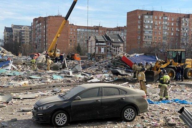 VIDEO: Gas blast in Russia levels supermarket to ground