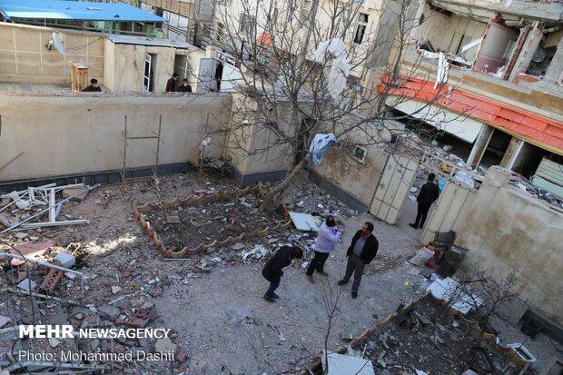 انفجار گاز در اردبیل
