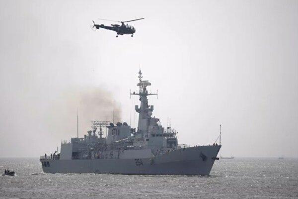 روسيا تعلن عن بدء المناورات البحرية المشتركة مع ايران