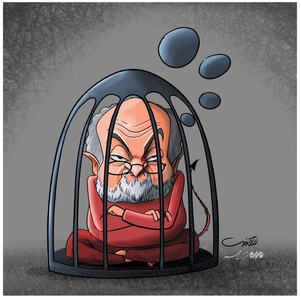 سلمان رشدی ملعون اپنی باطل اور سیاہ افکار میں قید ہوگیا