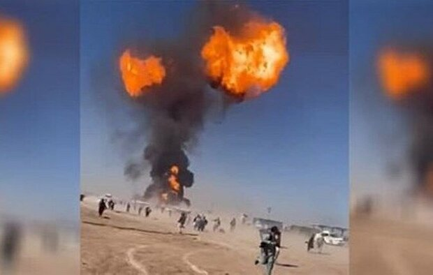 Explosion hits Iran-Afghanistan border (+VIDEO)