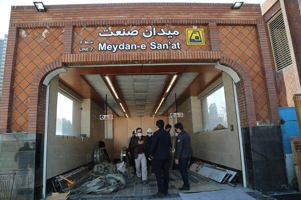 استفاده از تجهیزات برقی پیشرفته ایرانی در خط ۷ مترو تهران