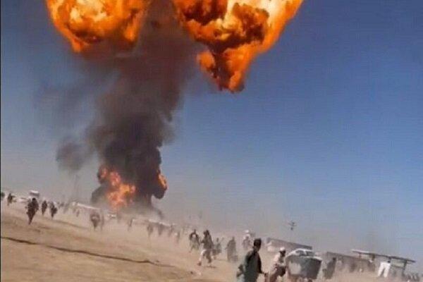 """إنفجار وقع عند نقطة الصفر الحدودية في جمرك """"اسلام قلعة"""" بافغانستان"""