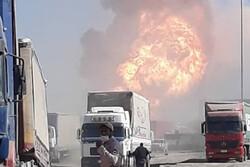 خسارتی به مرز  ایران وارد نشده است