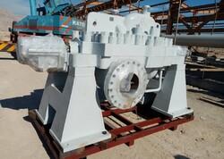 نخستین پمپ ۳.۲ مگاواتی به طرح انتقال نفتخام گوره جاسک رسید