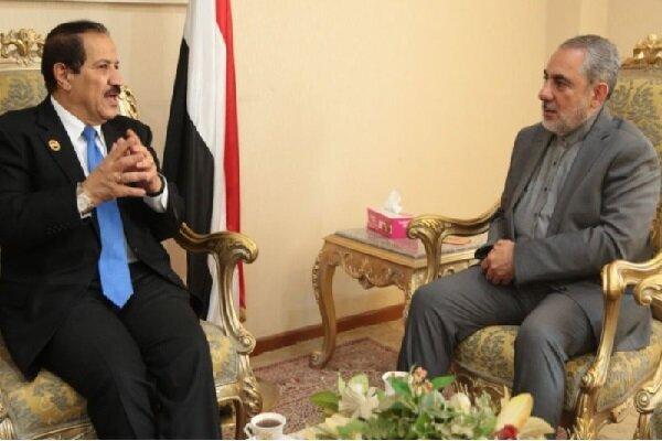 Iran backs a political solution for Yemen crisis: Envoy