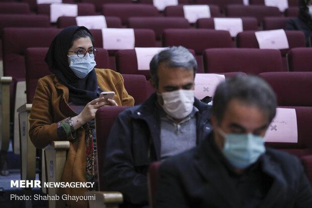 حضور خبرنگاران در نشست خبری ششمین جشنواره اسباب بازی