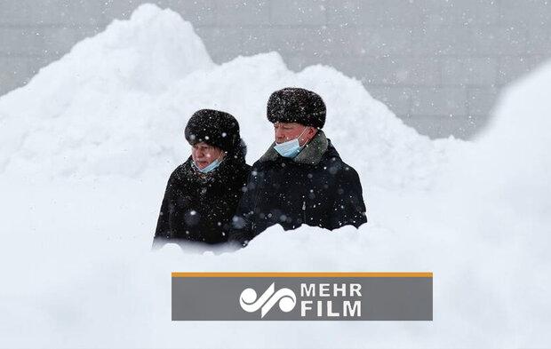 VIDEO: Snowfall disrupts Moscow air travel