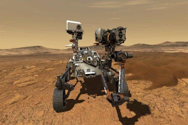 سرعت حرکت کاوشگر «استقامت» در مریخ بیشتر می شود