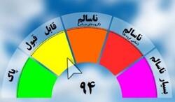 آلایندگی هوا در مشهد کاهش یافت