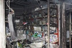 خسارت آتش سوزی در بازارچه مهاباد ۳۰۰ میلیارد ریال برآورد شد