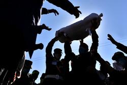 شهید گمنام در دیلم خاکسپاری شد