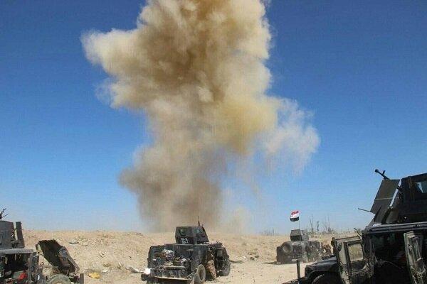 Iraq destroys ISIL hideouts, seize drone on Syria border