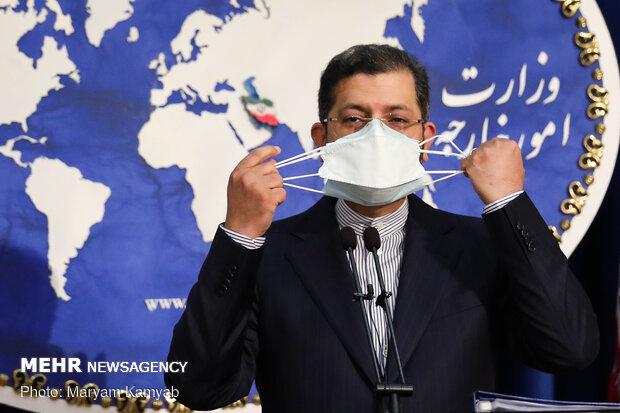 Iran FM spokesman's weekly presser