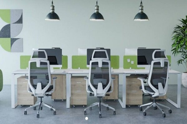 An ergonomic desk can be a good assistant for you