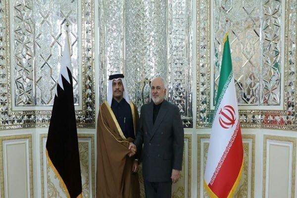 FM Zarif to host Qatari counterpart in Tehran