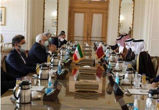 ايران مستعدة لتنمية التعاون مع قطر في جميع المجالات