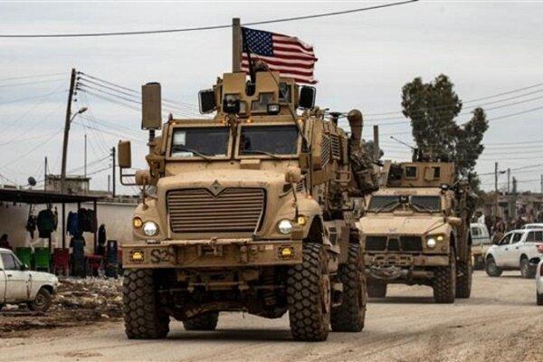آمریکا یک کاروان نظامی دیگر را از عراق وارد سوریه کرد