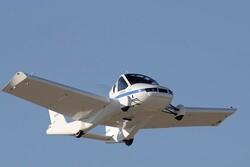خودروی پرنده با بال های تاشو مجوز پرواز گرفت
