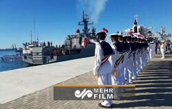 İran-Rusya ortak deniz tatbikatından görüntüler