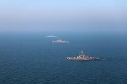 ناوگروه هندوستان به رزمایش مرکب امنیت دریایی شمال اقیانوس هند ملحق شد