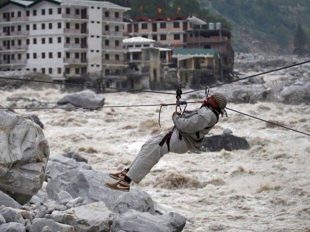 بھارت میں اتراکھنڈ کے چمولی علاقہ میں مزید 12 لاشیں برآمد/ 156 افراد اب تک لاپتہ