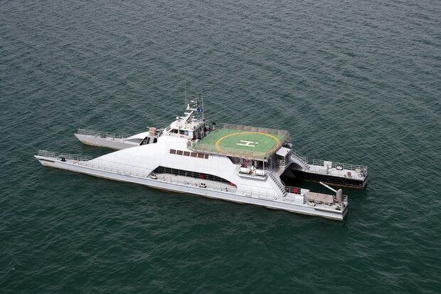 رزمایش مرکب امنیت دریایی در شمال Iranian-Russian 'Marine Security Belt' drill هند