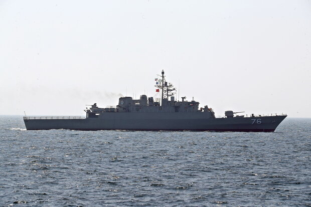 Iranian-Russian 'Marine Security Belt' drill