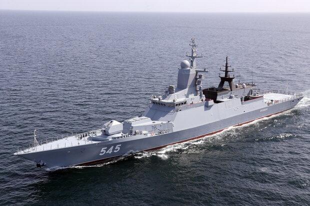 Iranian-Russian 'Marine Security Belt' drill