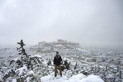 بارش شدید و کم سابقه برف در یونان
