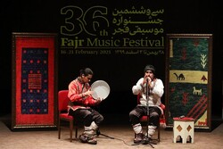 موسیقی خراسان چراغ جشنواره را روشن کرد/ نکوداشتی برای شجریان