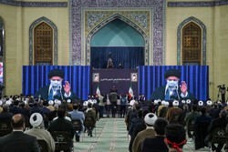 Leader's meeting with people of Tabriz on 43rd uprising anniv
