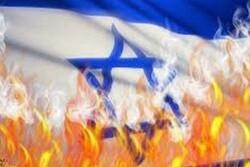 عراقیها پرچم رژیم صهیونیستی را به آتش کشیدند
