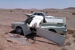 تصادف در محور دامغان- جندق ۲ کشته بر جای گذاشت